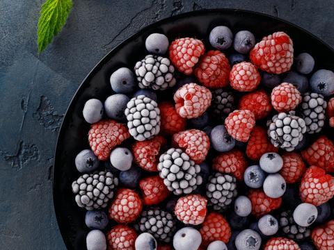 confituur maken van diepvriesfruit
