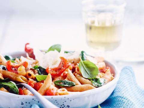 pasta met tomaat