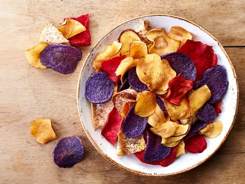 chips légumes cuisson astuce