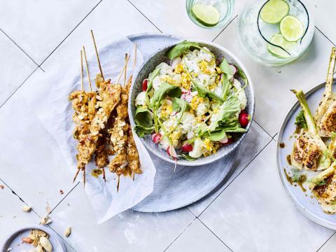 Snelle barbecue met extra veel groenten gezonde recepten