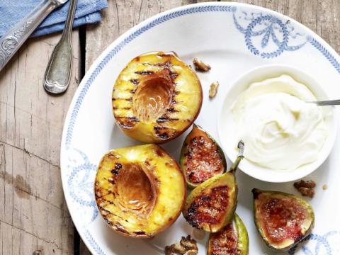 Lekker zoet: fruit op de barbecue 1