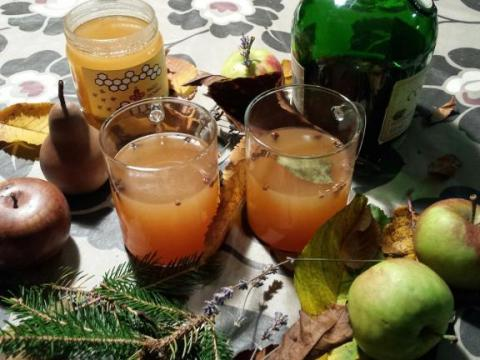 De appelsap-glühwein van Persmobiel
