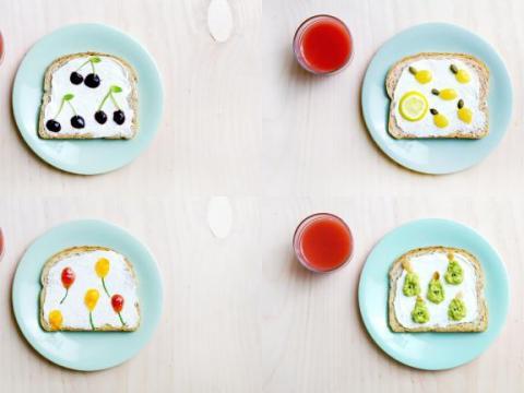 Video: 4 x kunstige boterhammen voor kinderen