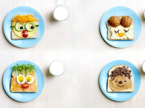 Video: 4 x blije boterhammen voor kinderen