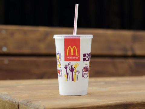 McDonald's va supprimer les pailles en plastiques à Bruxelles et Namur