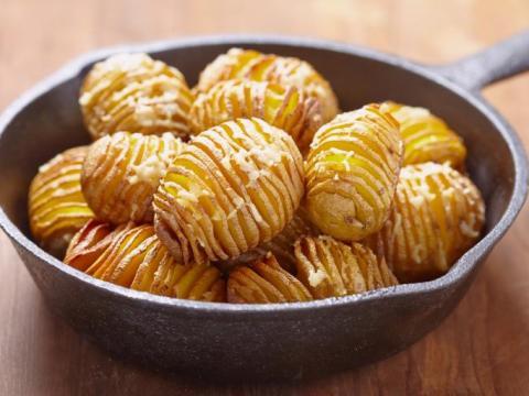 10 x origineel met aardappel (hasselback, pureetaartjes...)