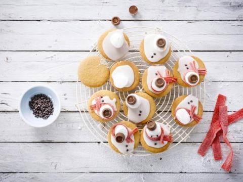 Stap 4 Gesmolten kerstman koekjes