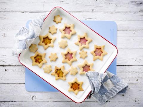 How-to: Kerststerretjes met snoepraampjes