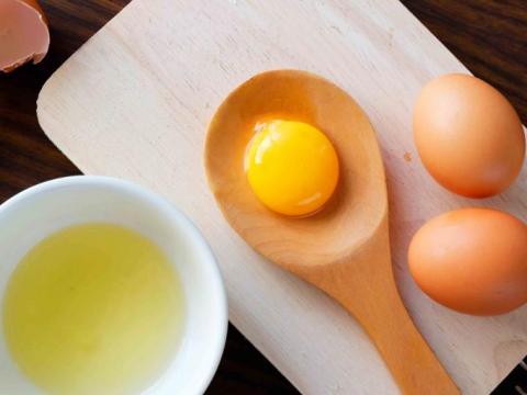 Hoeveel gram is één ei?