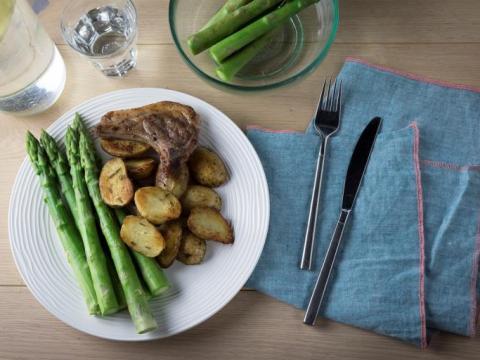 Lekker lamsvlees? Keep it simple!