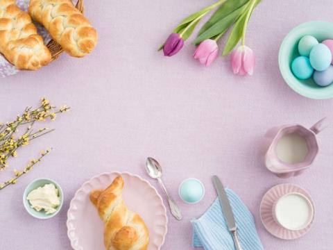 Op Pasen start je met een ...paasontbijt