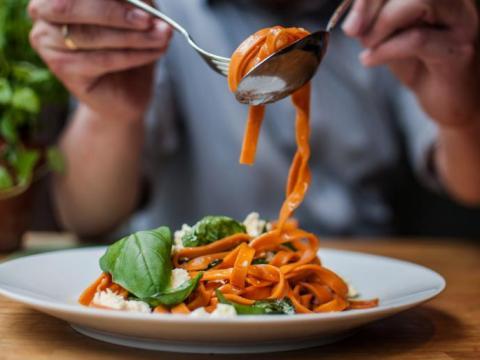 Au resto italien sans kilos