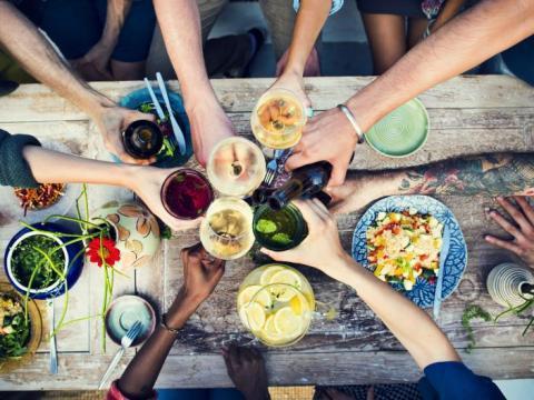 Manger dehors en toute convivialité