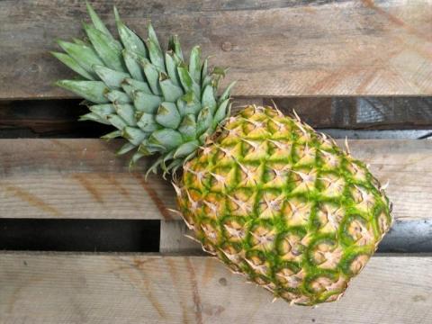 Gezond en mooi dankzij ananas