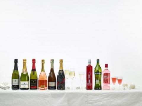 Des bulles et des cocktails