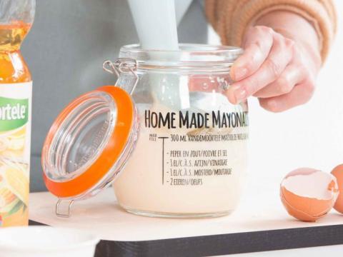 Home Made mayonaise klaar in 1-2-3 5
