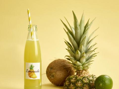 Zelfgemaakte limonade: