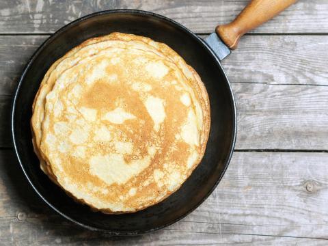 Waarom mislukt de eerste pannenkoek altijd?