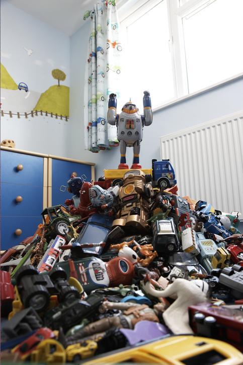 te veel speelgoed