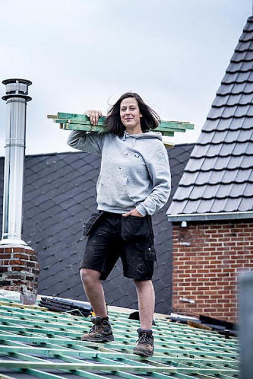 vrouwen in de bouw