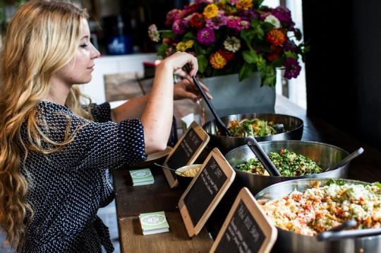 de beste saladbars in Gent