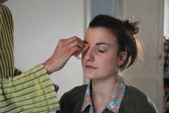 lectrice à la une, Alice, make-up