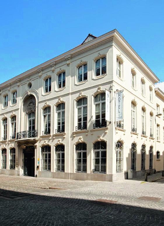 monumentaal logeren in Antwerpen