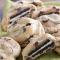 Chocolate chip cookies gevuld met oreo
