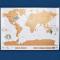 Wereldkaart om te scratchen