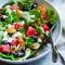 Ongewassen rauwe groenten en fruit, ongewassen verse kruiden