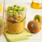 Salade de boulgour, kiwi et légumes