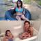 In het water spelen, was ooit heel relaxerend…