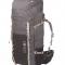 Donkergrijze trekkingrugzak (70 liter)