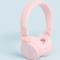 Roze koptelefoon