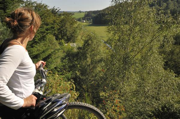balade à vélo Hertogenwald