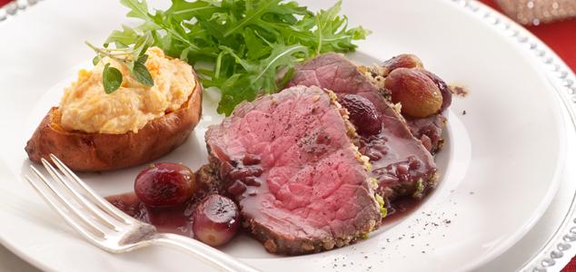 feestelijke gerechten met vlees