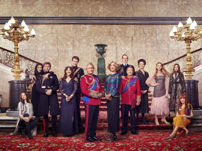 The Windsors series zoals The Crown