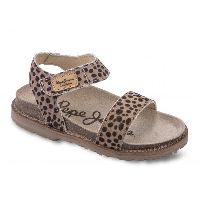 Sandales à imprimé léopard- Pepe Jeans - 55€