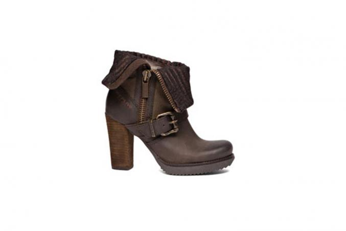 Bottines à talon épais - Replay - 160,0€