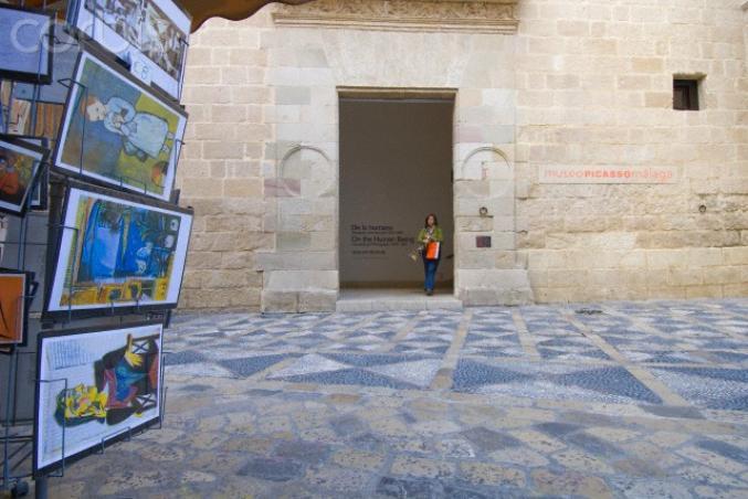 Malaga - Entrée du Musée Picasso