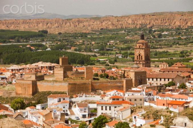 Malaga - Le maure Alcazaba