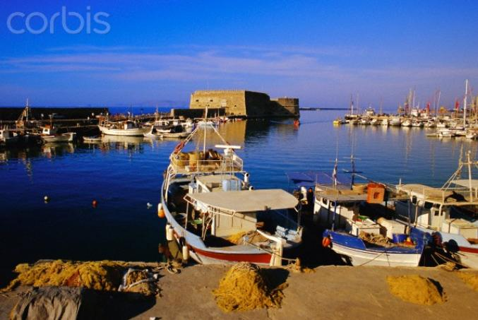 Heraklion - Le principal port de Crète