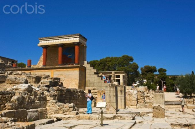 Heraklion - Le palais du roi Minos