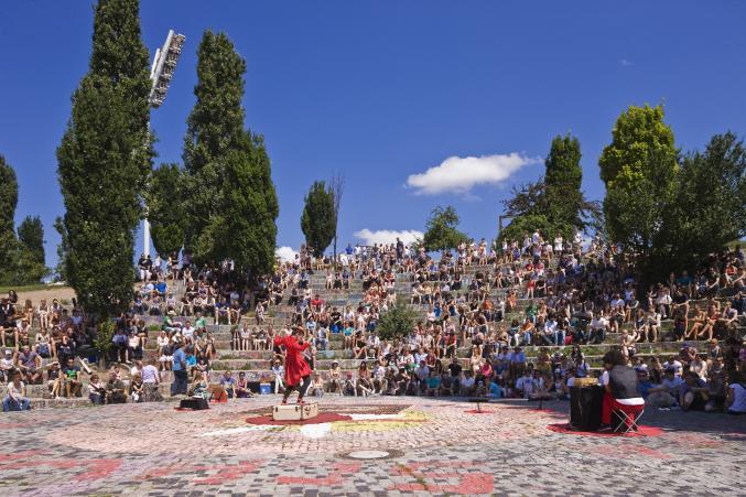 Berlijn - marché aux puces Mauerpark