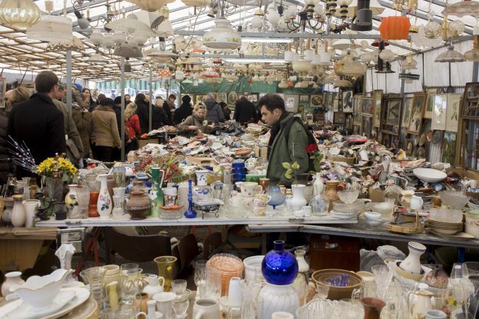 Berlin - marché aux puces Mauerpark