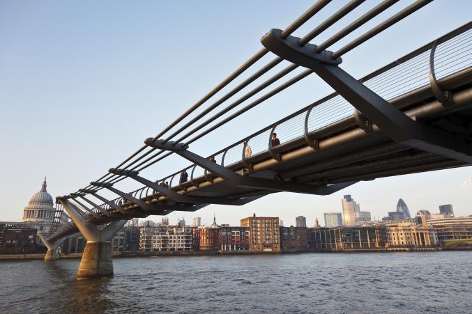 Londres - le Millenium Brigde