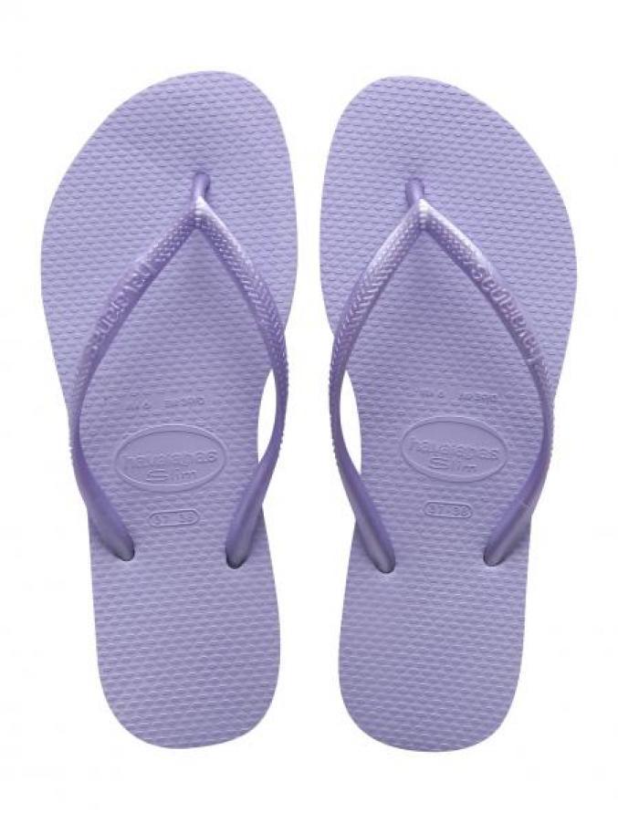 Tongs violettes - Havaianas - 30€