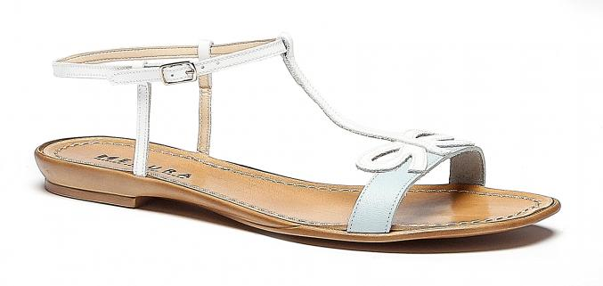 Sandales blanches - Avance - 49,99€