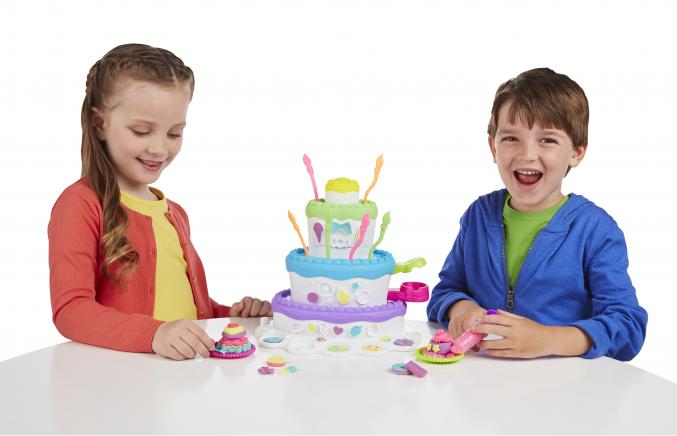 Gâteau PlayDoh