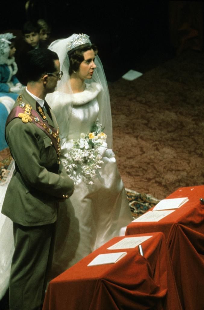 Mariage de Baudouin et de Fabiola